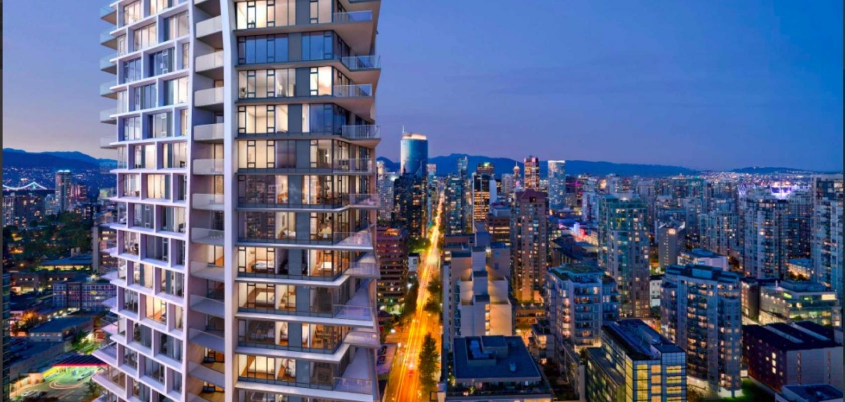 2505 - 1289 Hornby Street, Downtown VW, Vancouver West